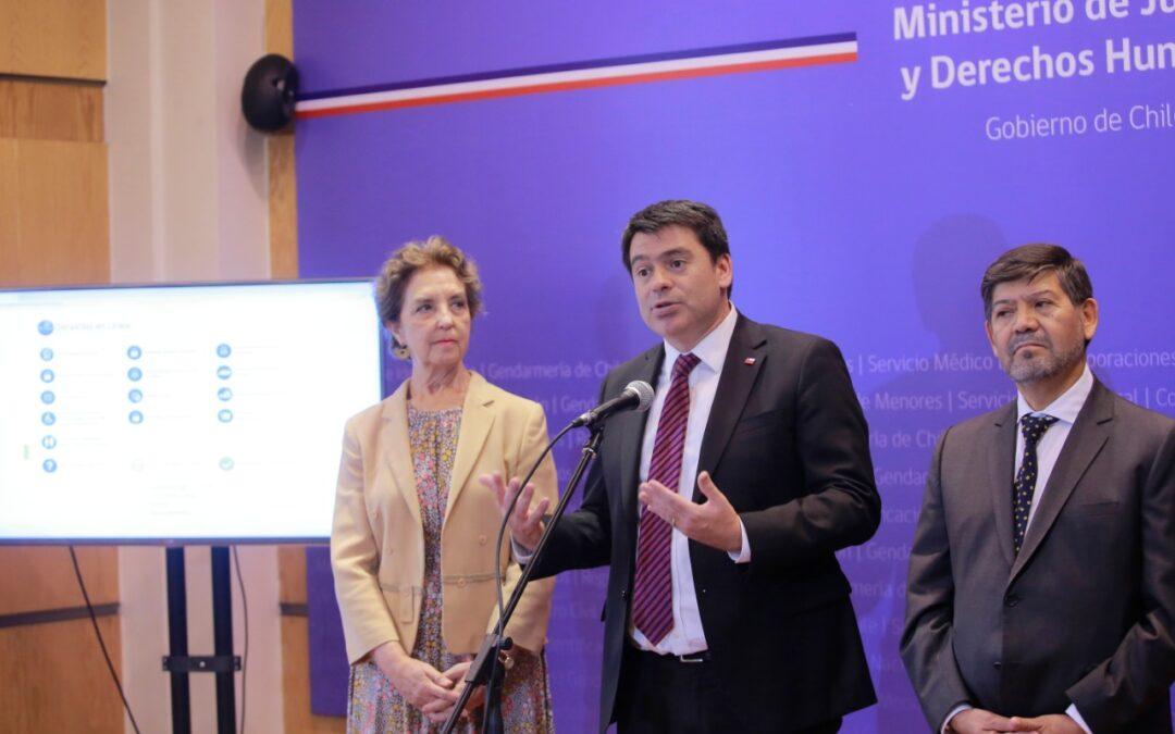 Subsecretario de Justicia encabezará conversatorio virtual sobre Proceso Penal en Chile