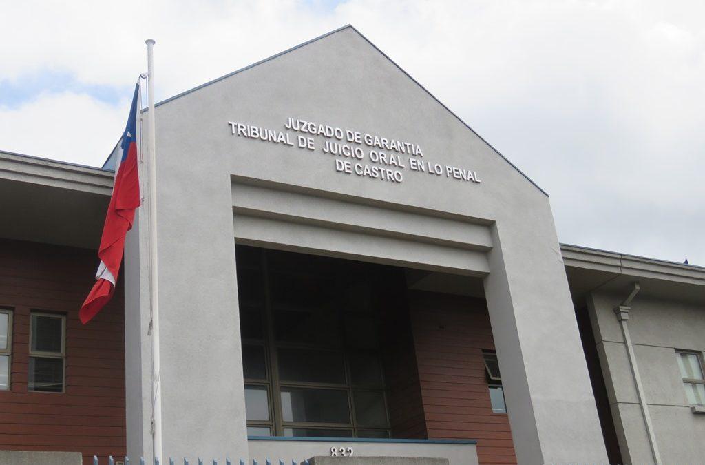 Tribunal de Castro condena a 10 años de cárcel a hombre que violó a su hija de 12 años