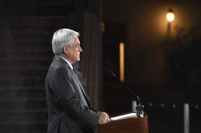Presentan acusación constitucional en contra del Presidente Sebastián Piñera