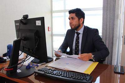 El fiscal adjunto de Copiapó, Luis Miranda.
