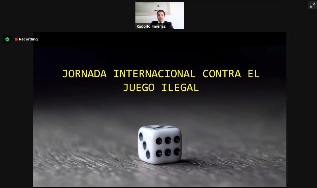 Oficial de la PDI expuso en Jornada Internacional sobre Juegos Ilegales